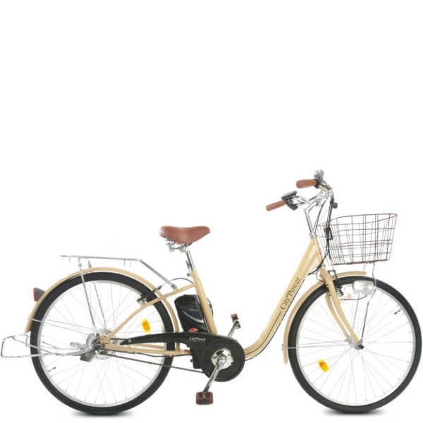 city power - bicicletta elettrica donna