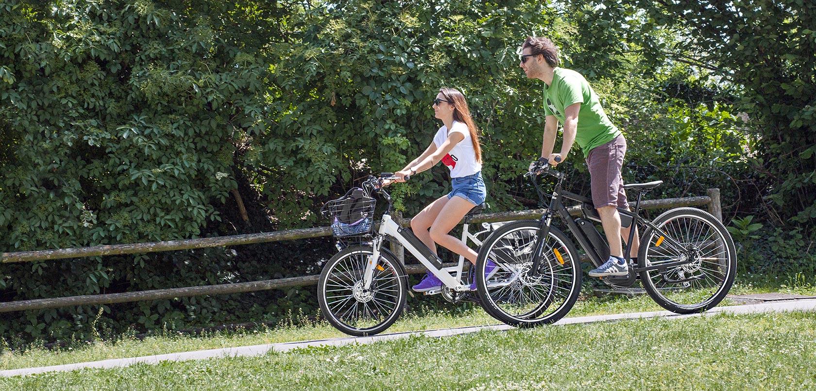 bicicletta elettrica a pedalata assistita