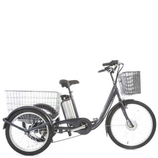 triciclo a pedalata assistita