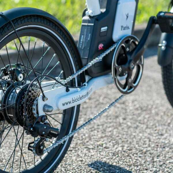 paris bicicletta pieghevole a pedalata assistita – bianco – wy biciclette elettriche-4259