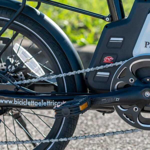 paris bicicletta pieghevole a pedalata assistita – nero – wy biciclette elettriche-4268