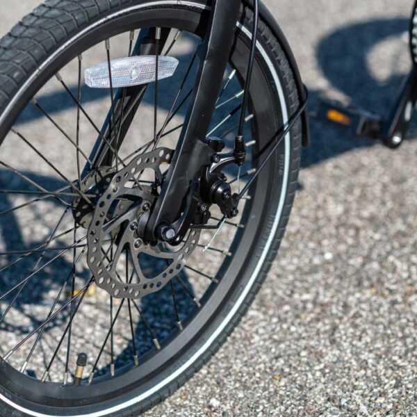 paris bicicletta pieghevole a pedalata assistita – rosso – wy biciclette elettriche-4284